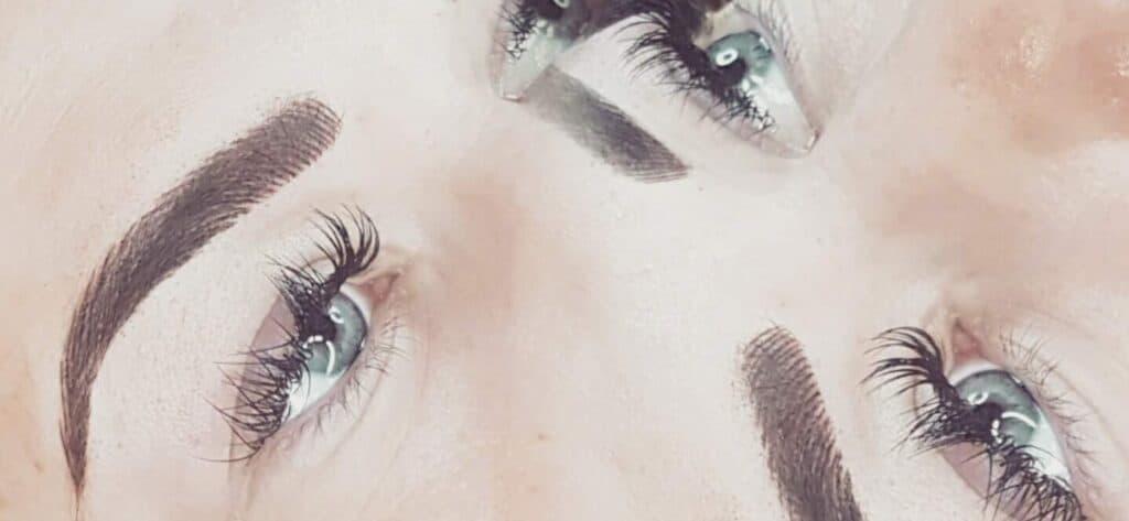 Microblading and semi-permanent makeup