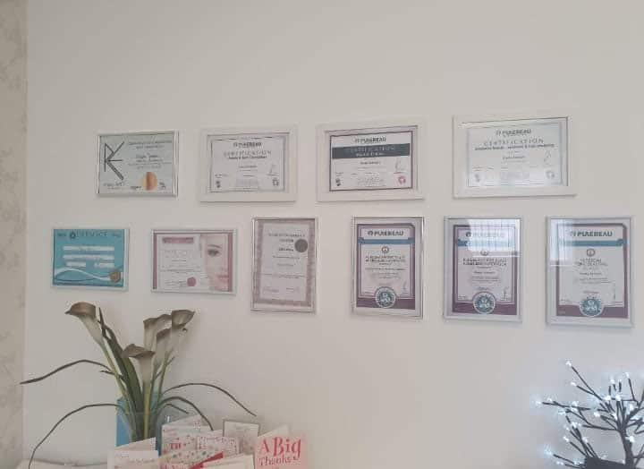 Certificates for Permanent Makeup