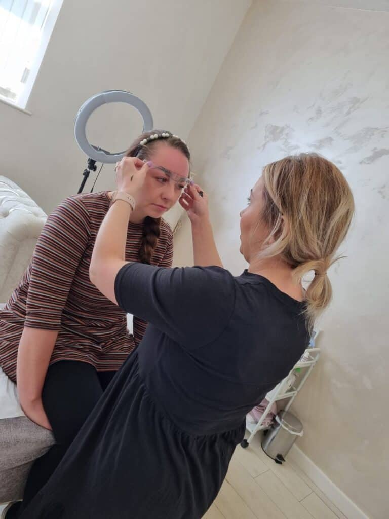 Measuring Permanent Makeup